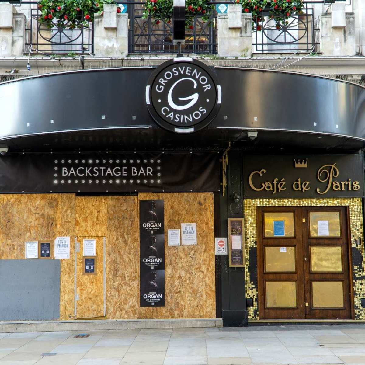 Café de Paris, one of London's oldest nightclubs established in the 1920s, closed its doors due to the COVID-19 pandemic.