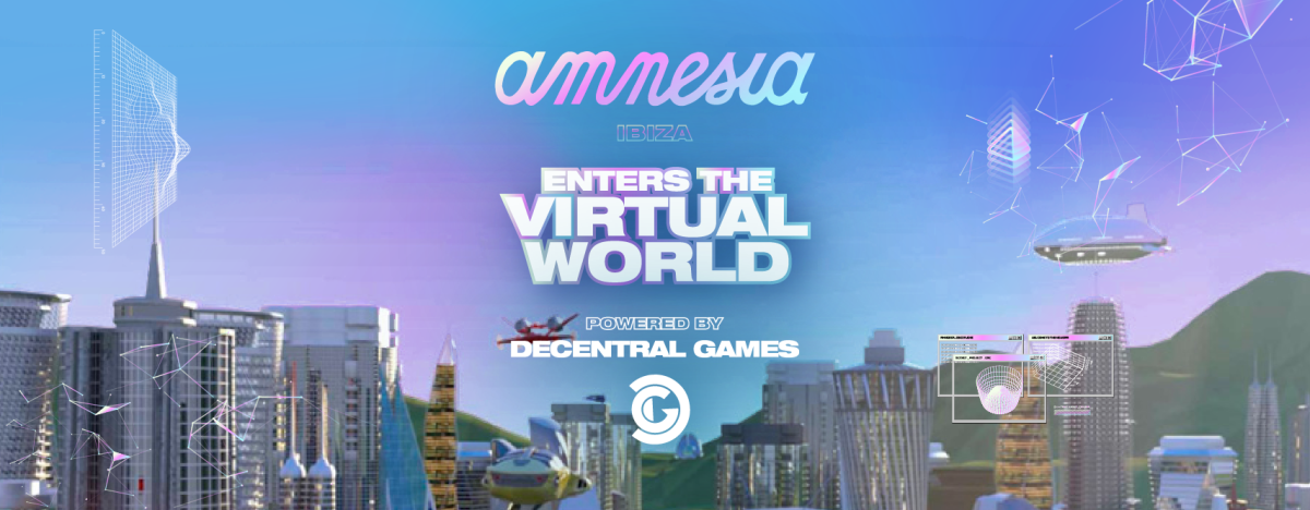In partnership with Decentral Games, Amnesia Ibiza will launch its own virtual dancefloors in the Ethereum metaverse.
