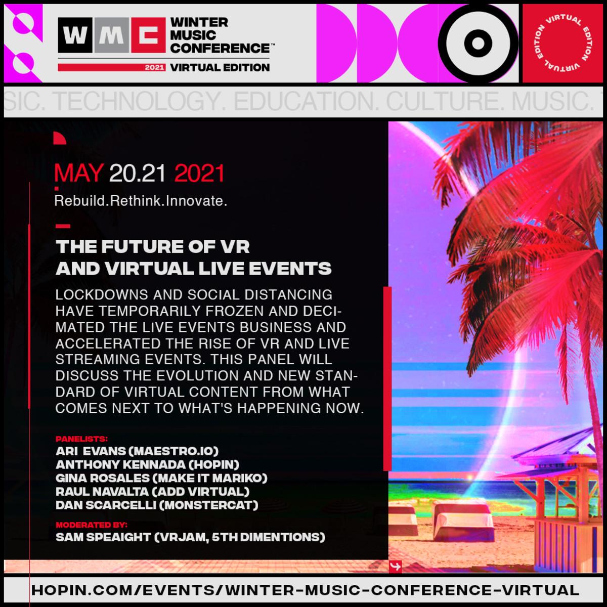 The Panel Description - Future of VR and Virtual Live Events
