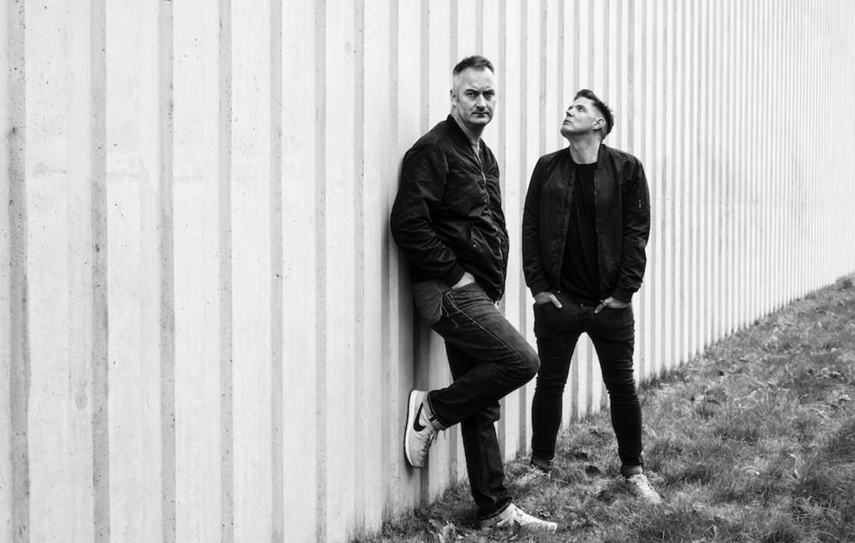 Glasgow techno duo Slam.