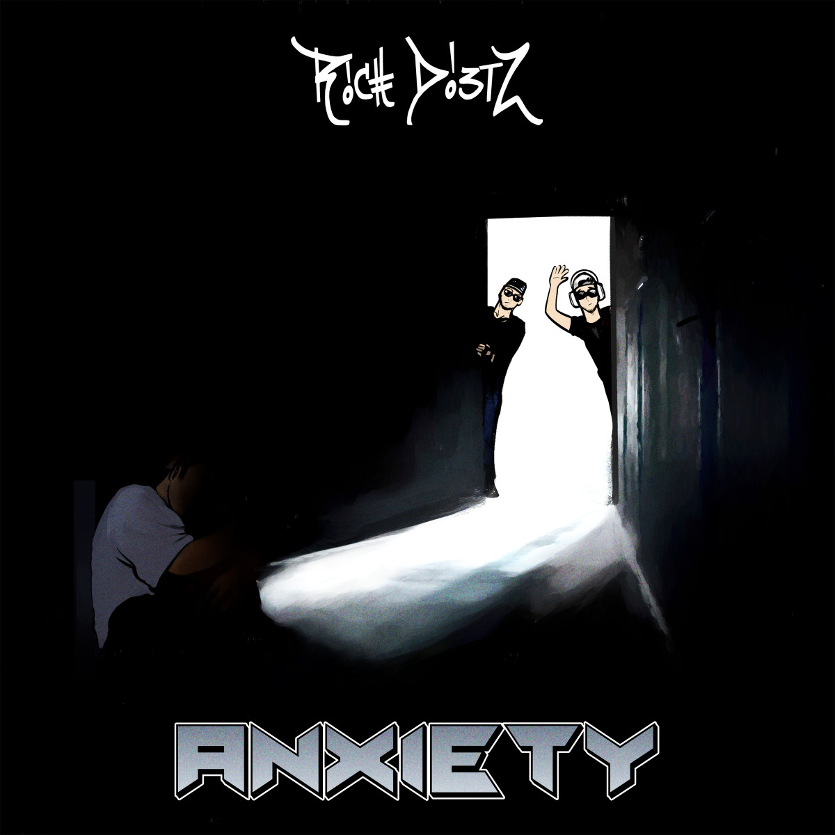 "Artwork for Rich DietZ's new single ""Anxiety."""