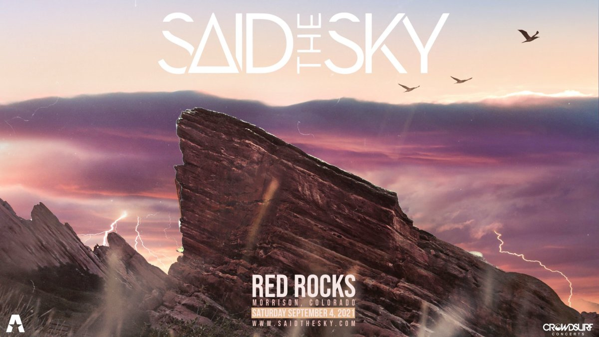 Said The Sky crossed a career milestone with his first-ever headlining performance at Red Rocks Amphitheatre this Fall.