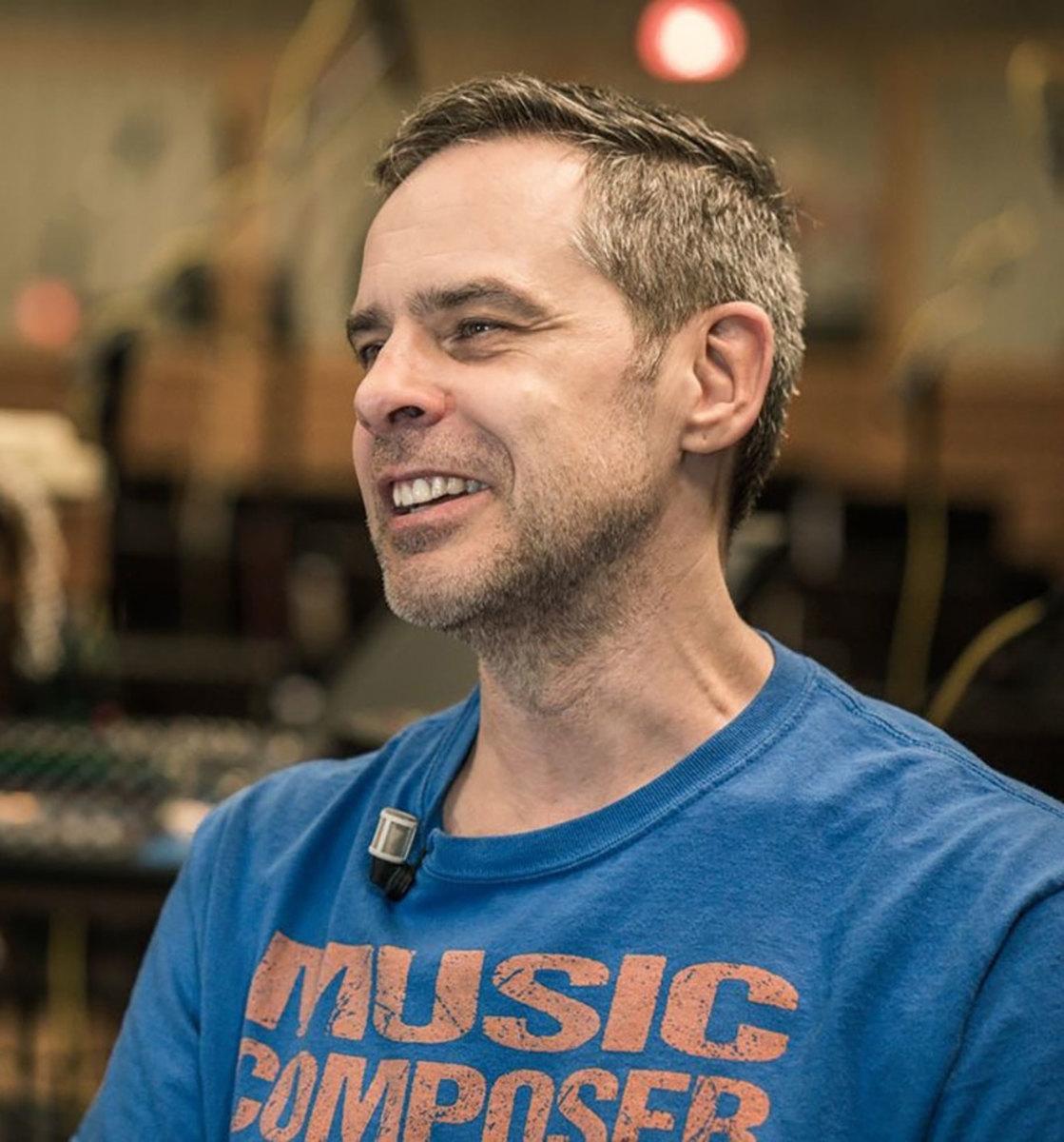 BAFTA-nominated composer Grant Kirkhope.