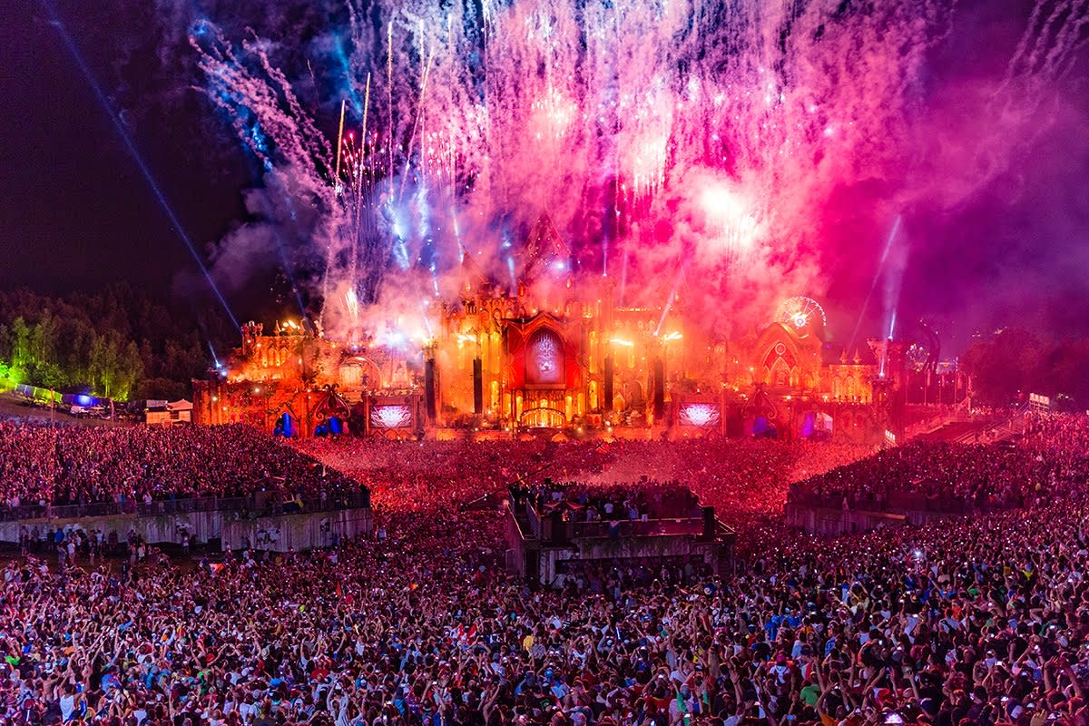 The main stage of Tomorrowland.
