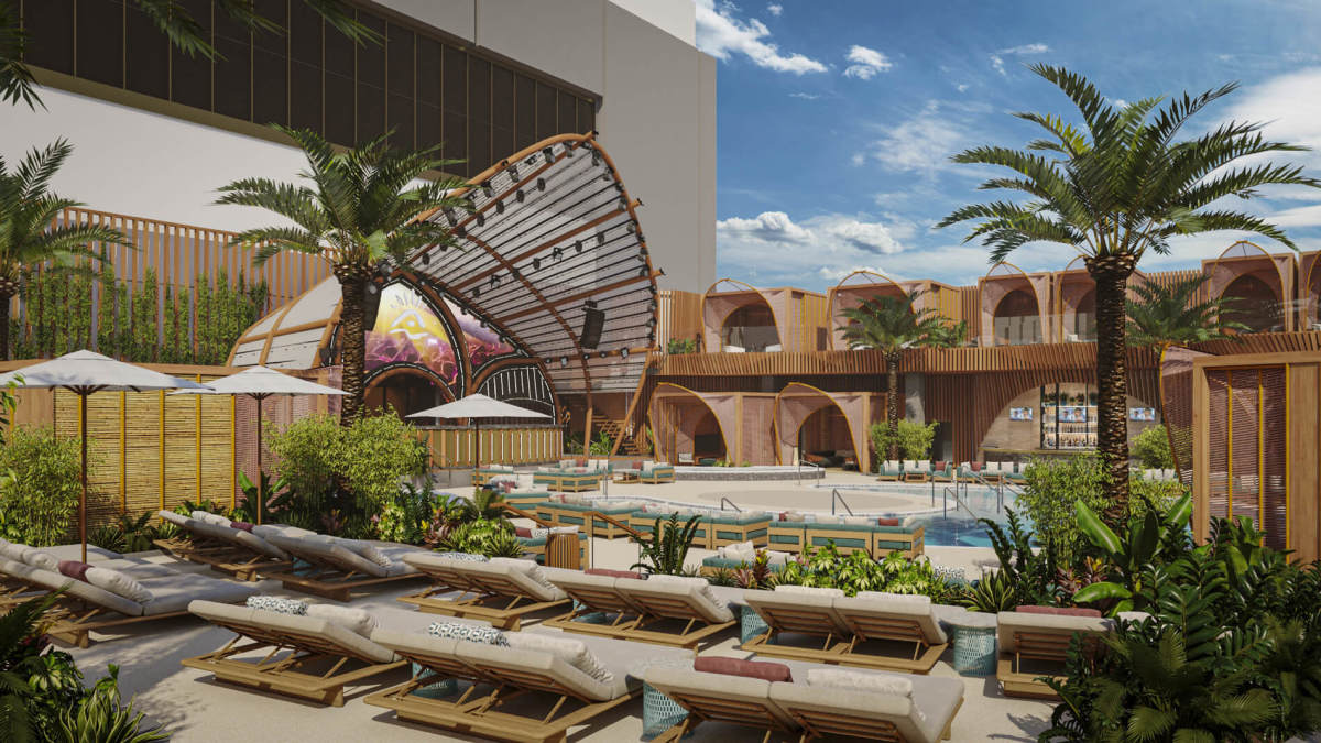 Ayu Dayclub at Resorts World Las Vegas.