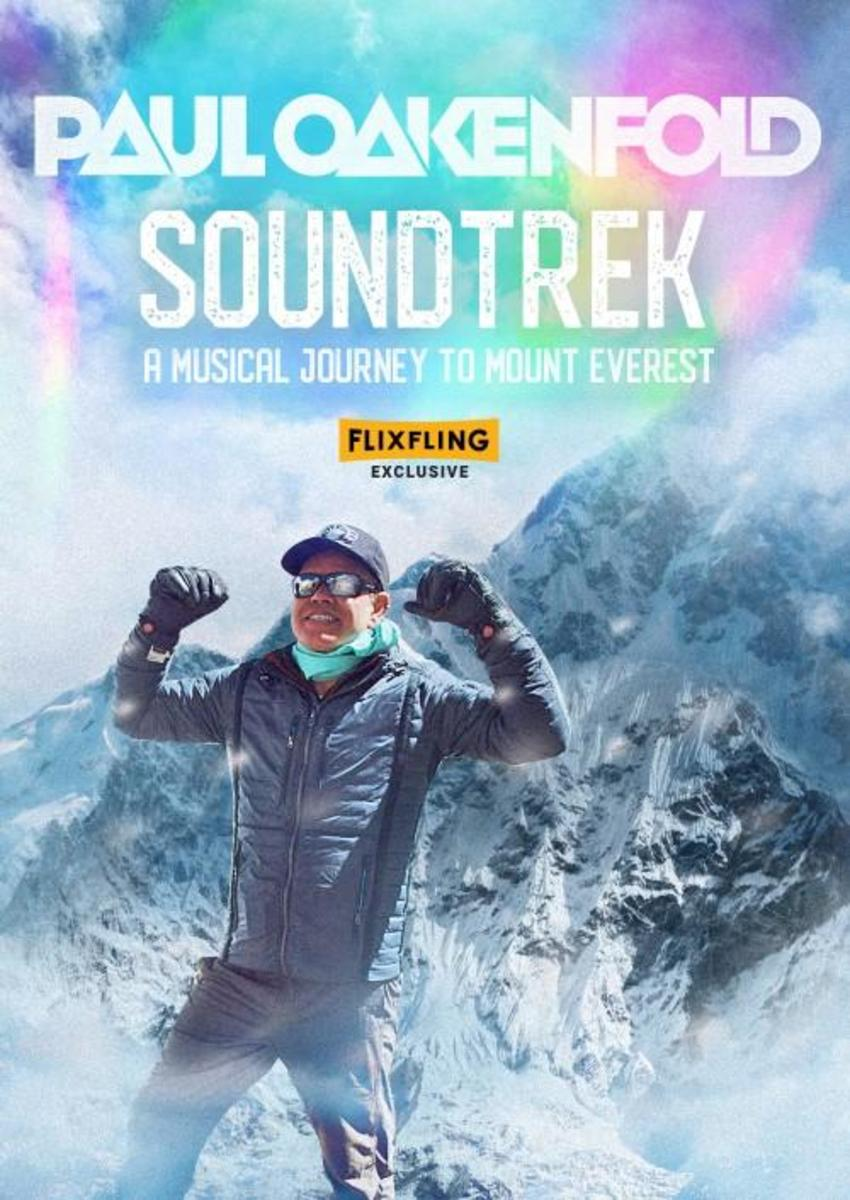 Poster forSoundTrek: A Music Journey to Mount Everest, out now via FlixFling.