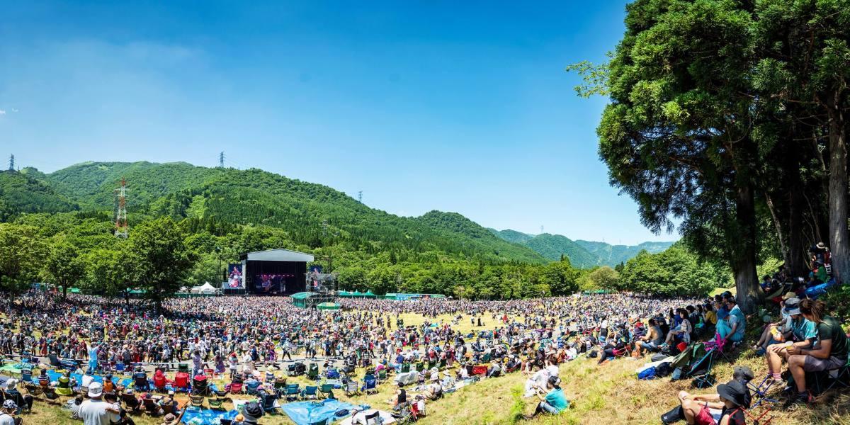 Fuji Rock Festival inNiigata Prefecture, Japan.