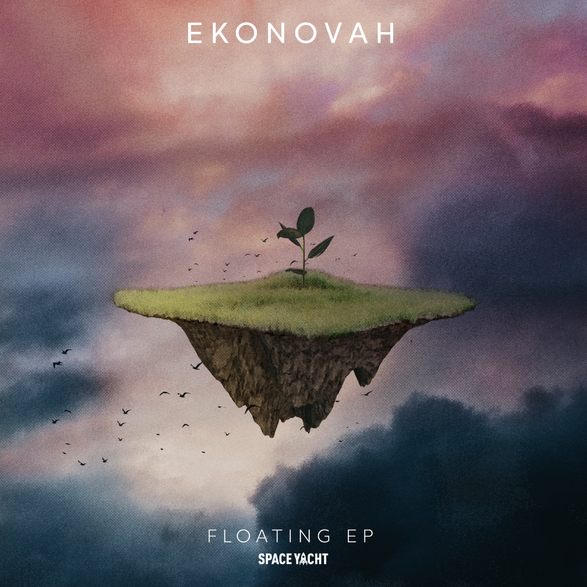 """Ekonovah released his new three-track EP """"Floating"""" on Space Yacht Records."""