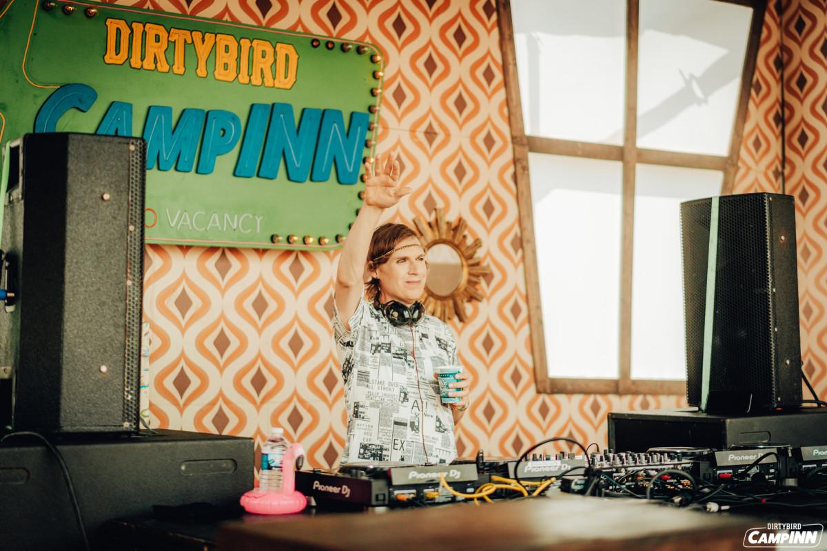 Worthy performing at Dirtybird CampInn in May 2021.