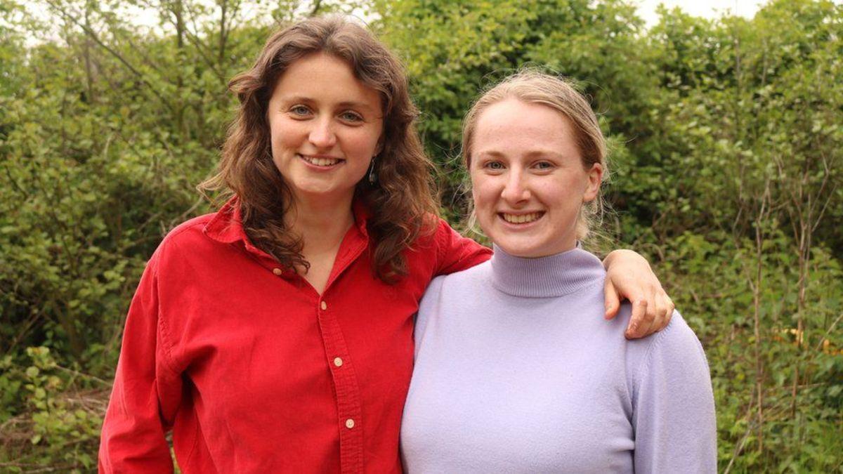 Hazel McShane and Amber Probyn.