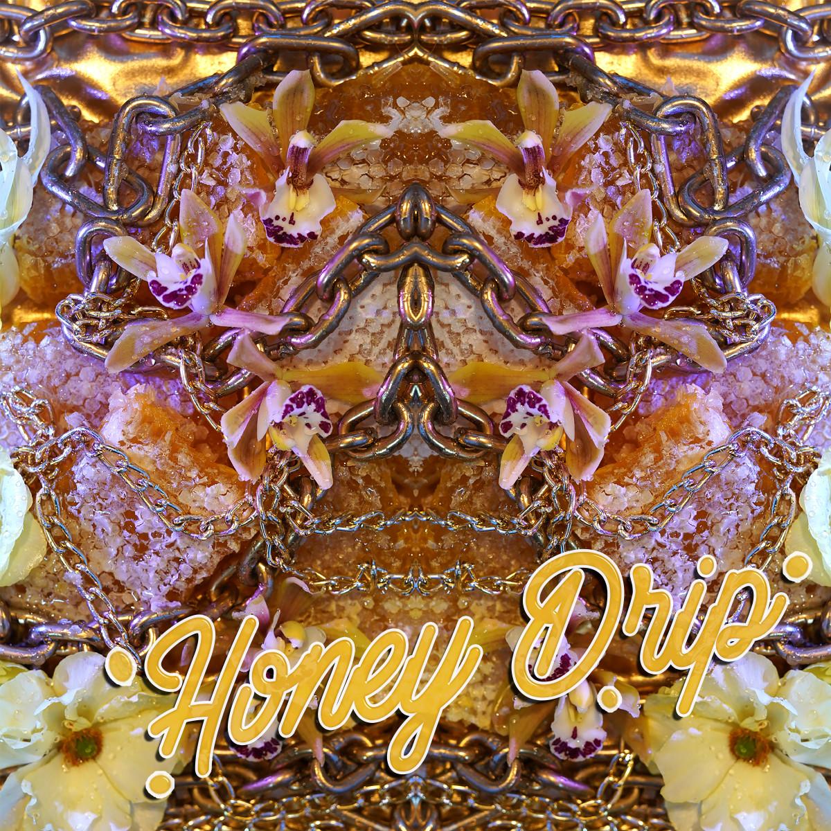 "Artwork for Wreckno's single ""Honey Drip."""