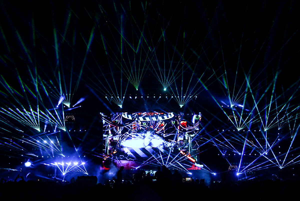 Relentless Beats' show at Chandler's Rawhide Event Center with Excision on June 18th 2021.