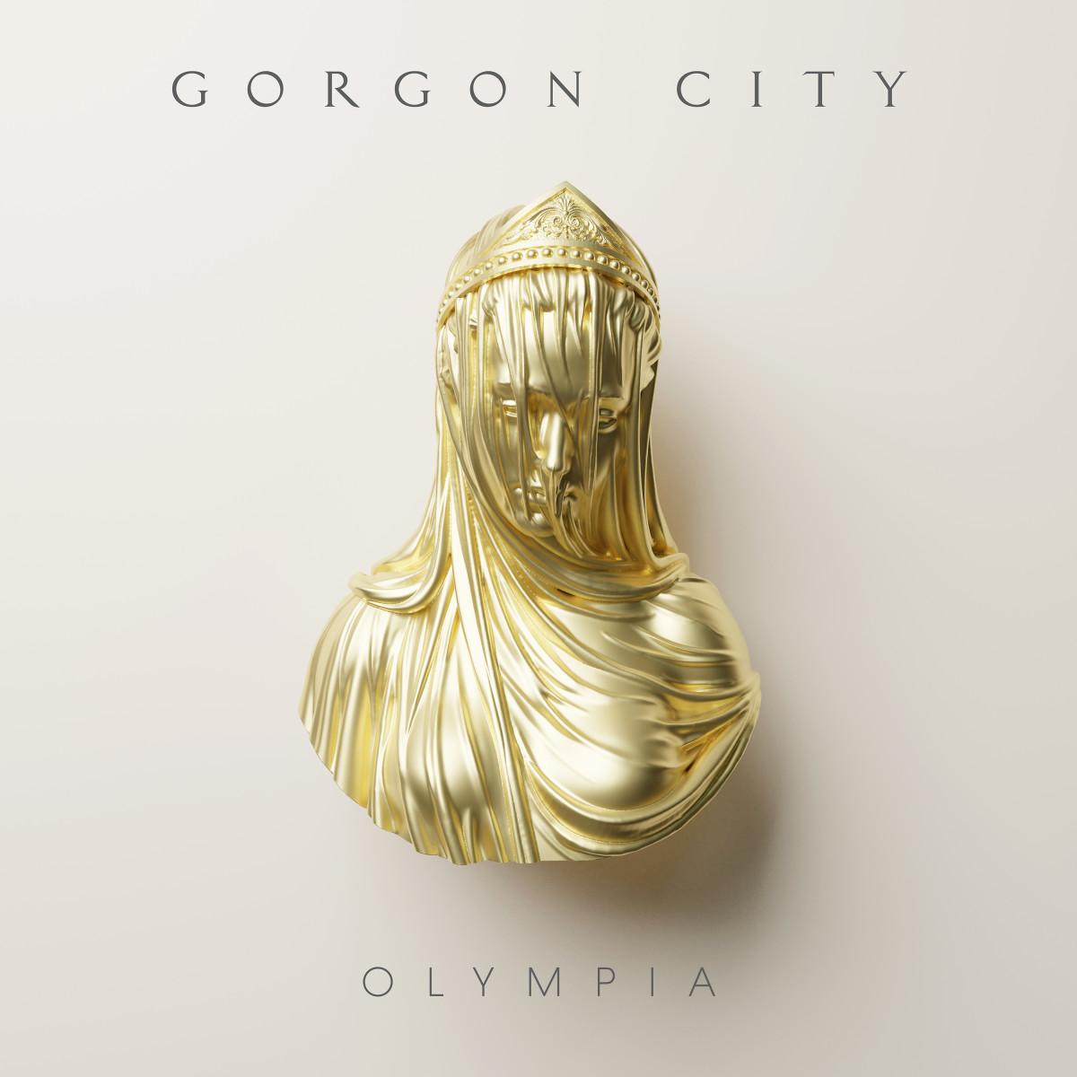 "Artwork for Gorgon City's new album ""Olympia."""