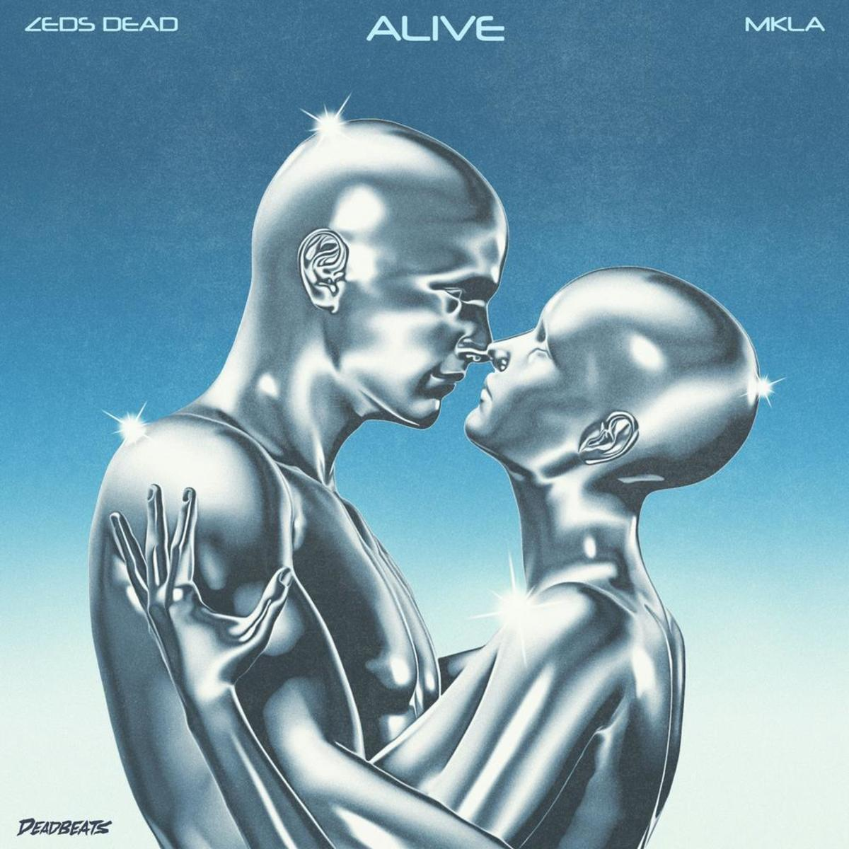 """Artwork for Zeds Dead and MKLA's """"Alive,"""" out now on Deadbeats."""