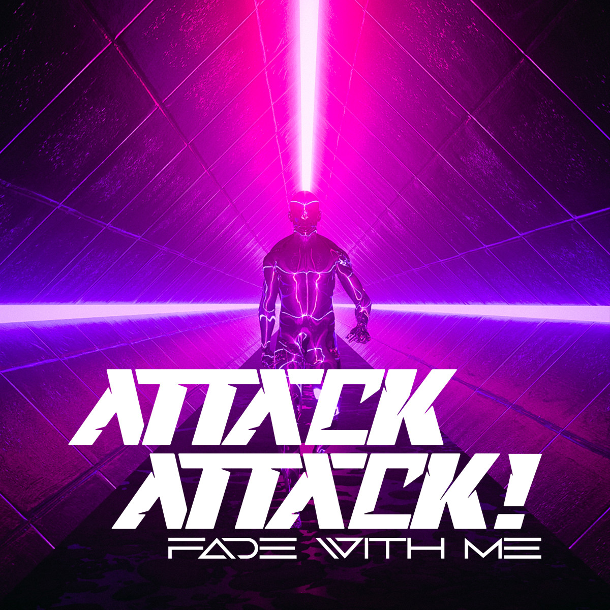 """Artwork for Attack Attack!'s new song """"Fade With Me."""""""