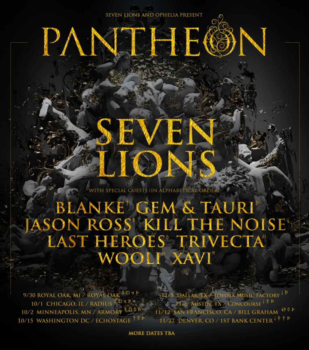 Pantheon Tour Poster