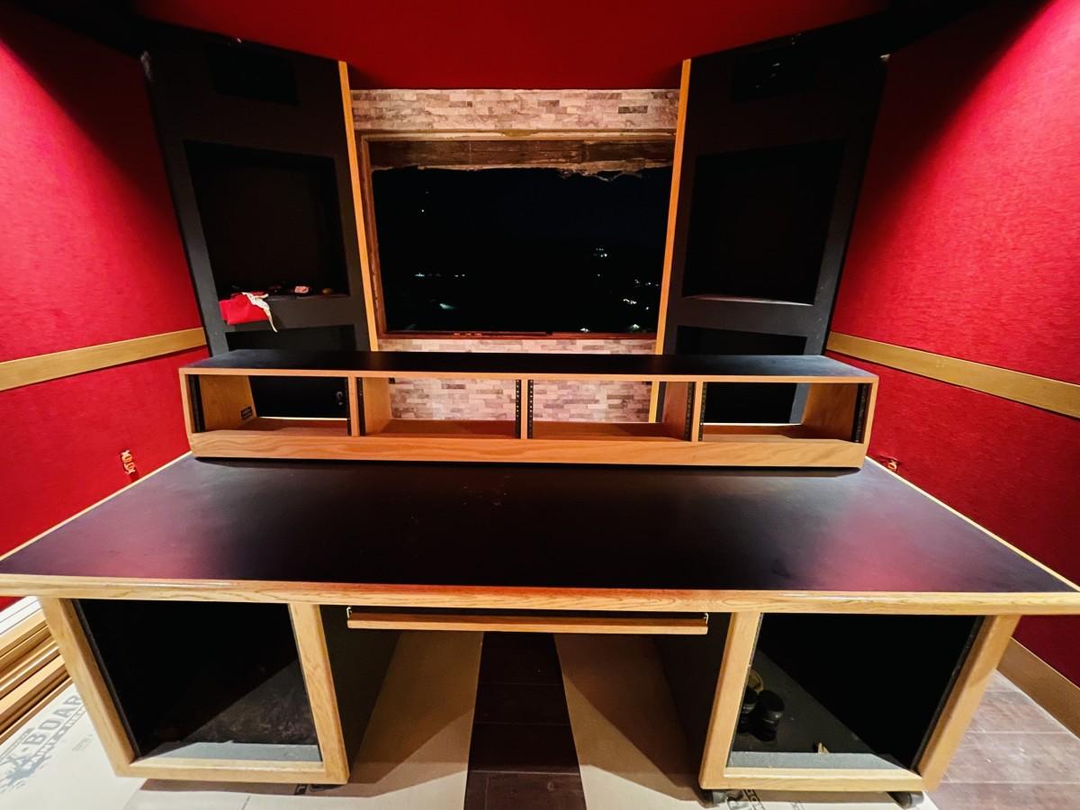 Perfetto's recording studio.