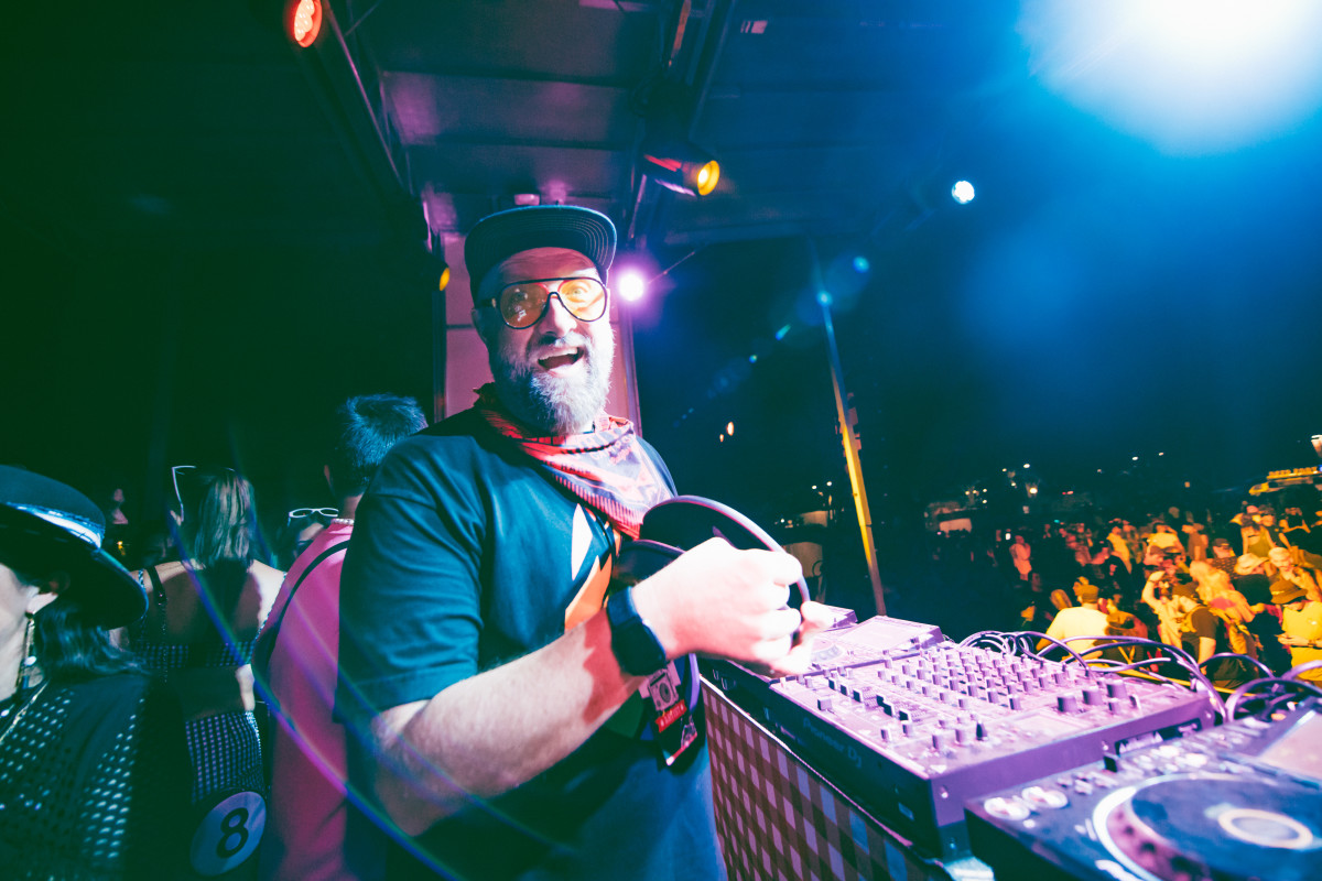 Claude VonStroke throwing down at Dirtybird Road To Campout 2021.