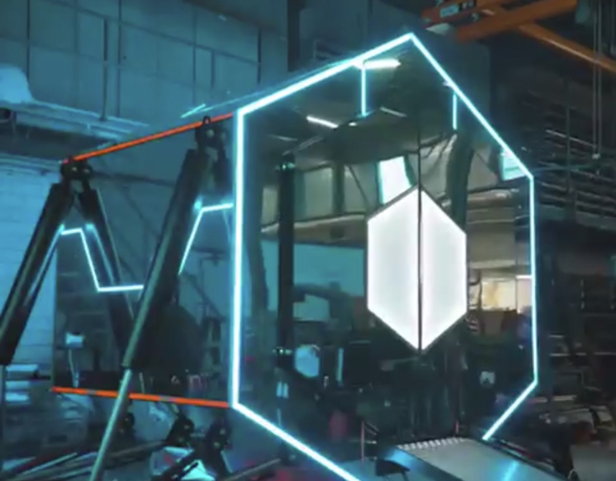 """Don Diablo's """"Hexhibit III,"""" a real-world NFT project he called his """"most ambitious"""" venture to date."""